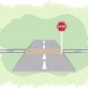 Comment se arrêter à un panneau d'arrêt