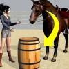 Comment enseigner à votre cheval à la course de baril