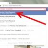 Comment suivre les amis en attente demande sur facebook