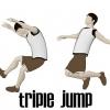 Comment triple saut