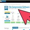 Comment utiliser un programme de compression de fichiers