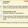 Comment utiliser la fonction undo send de gmail
