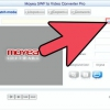 Comment utiliser moyea swf to video converter pro