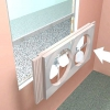 Comment utiliser des ventilateurs pour le refroidissement de la fenêtre de la maison