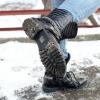 Comment marcher sur la glace sans tomber