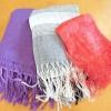 Comment porter un foulard d'hiver