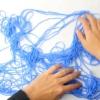 Comment enrouler une boule de fil