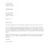 Comment écrire une violation de la lettre du contrat