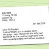 Comment écrire une lettre de difficultés pour la modification de prêt hypothécaire