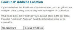 Comment trouver une adresse ip et par personne's geographical location from yahoo mail