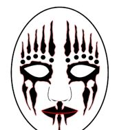 ���� - Comment faire un masque de slipknot joey jordison