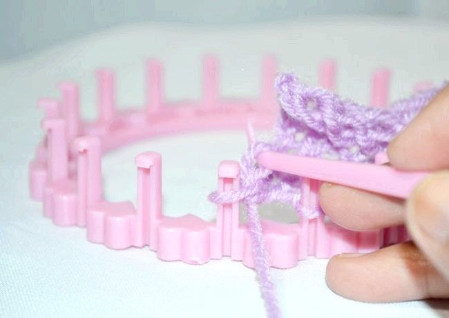 Purl point sur une étape 7Bullet3.jpg ronde Knitting Loom